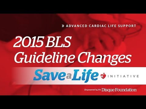 3c. 2015 BLS Guideline Changes, Advanced Cardiac Life Support (ACLS) (2018)