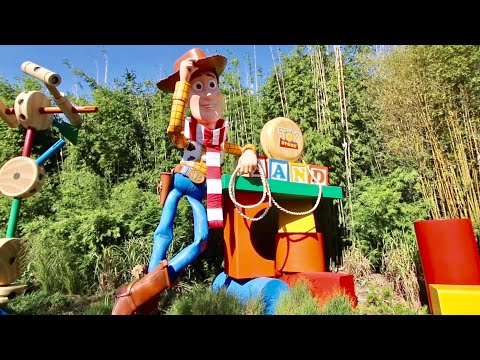 Finally Made It To TOY STORY LAND - My First Time at Disney's Hollywood Studios Expansion