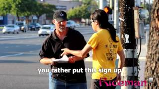 Homeless Man Does Amazing Act (This Will Make You Cry!)