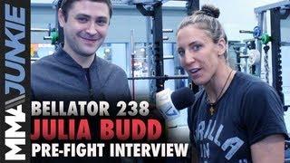 Bellator 238: Julia Budd talks Cris Cyborg title fight with Mike Bohn