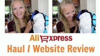 AliExpress Haul/Website Review