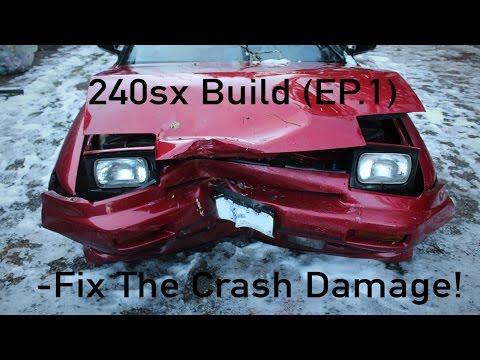 240sx S13 Drift/Daily Build (EP.1) -Fix The Crash Damage!