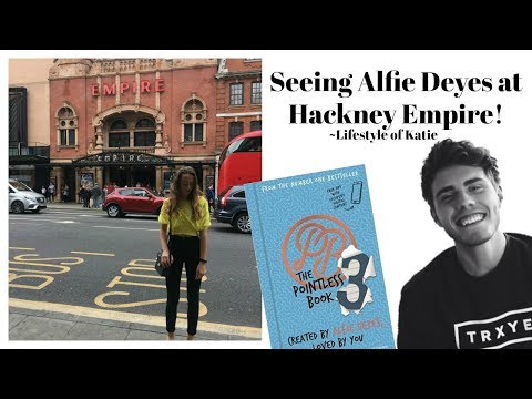 Alfie Deyes' (PointlessBlog) Hackney Empire Live Show!!