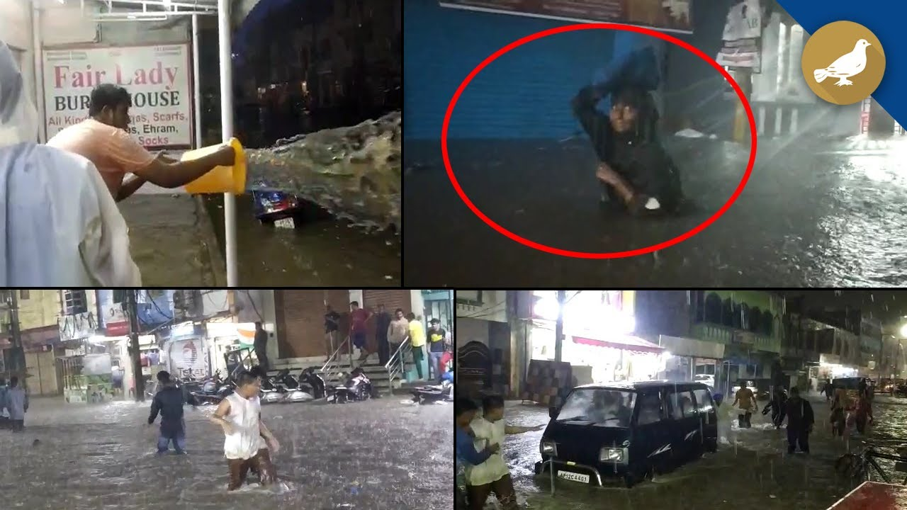 Mumbai Rains: Heavy rain lashes Mumbai, suburbs; several