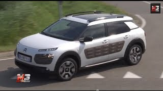 CITROEN C4 CACTUS 2014 - FIRST TEST DRIVE