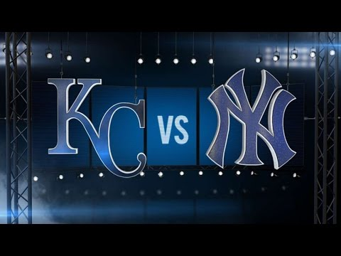 5/10/16: Yankees score three in the 8th to top Royals