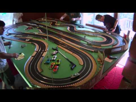 NCSRA Digital FLY Classic series slot car race