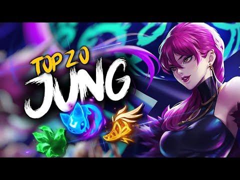 Top 20 JUNGLER Plays #21 | League of Legends thumbnail