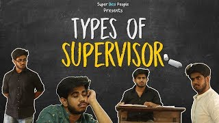 Super Desi People - | Types Of Exam Supervisors