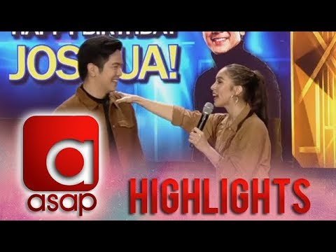 ASAP: Julia's birthday message for Joshua...
