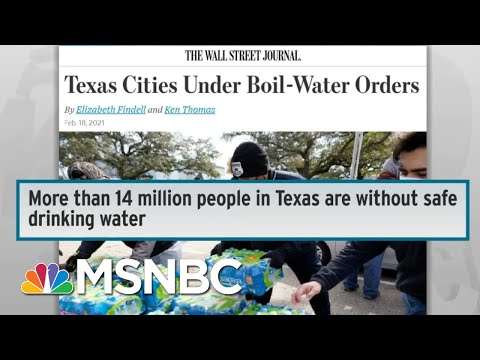 Millions In TX Are Without Safe Drinking Water As Power Catastrophe Drags On | Rachel Maddow | MSNBC