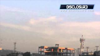 WOW! Mexico UFO 2012-SUPER CLEAR Daytime Sighting!