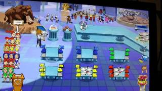 Diner Dash Hometown Hero 18: Museum Grill Level 9 - Easier Color Matching