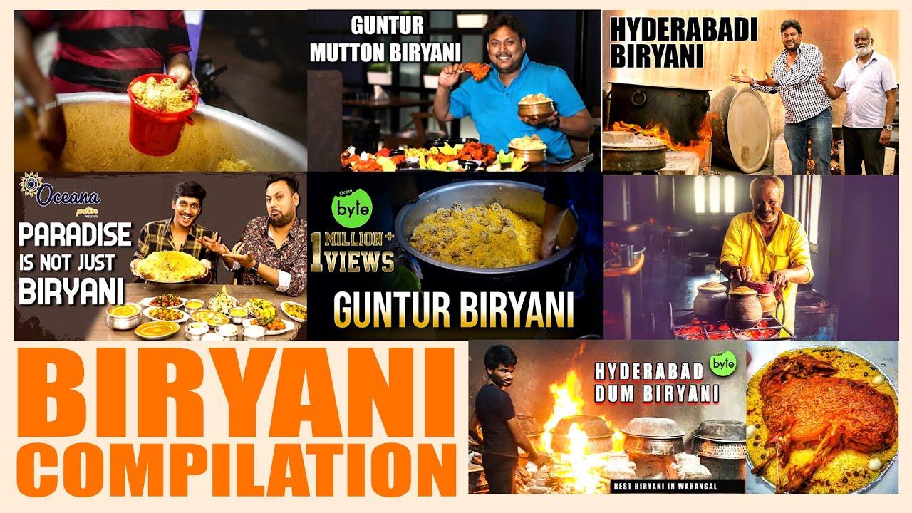 Biryanis you MUST try! | Biryani Compilation | Street Byte | Silly Monks