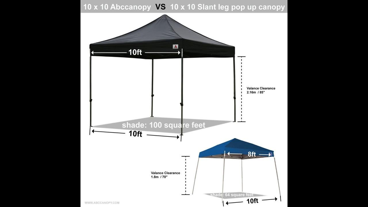 Abccanopy Kingkong series 10 X 10 feet Commercial Instant Canopy Kit & Abccanopy Kingkong series 10 X 10 feet Commercial Instant Canopy ...