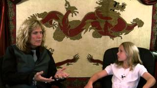 David Coverdale is interviewed by none other than his Granddaughter...