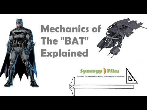 "Mechanics of the ""BAT"" (Dark Knight Rises) Explained"