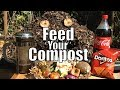 Feed Your Compost! - Tips for Starting & Maintaining A Compost Pile