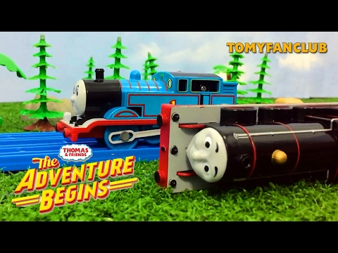 James Runaway and Crash : The Adventure Begins (US) - Thomas and Friends | TOMY FANCLUB