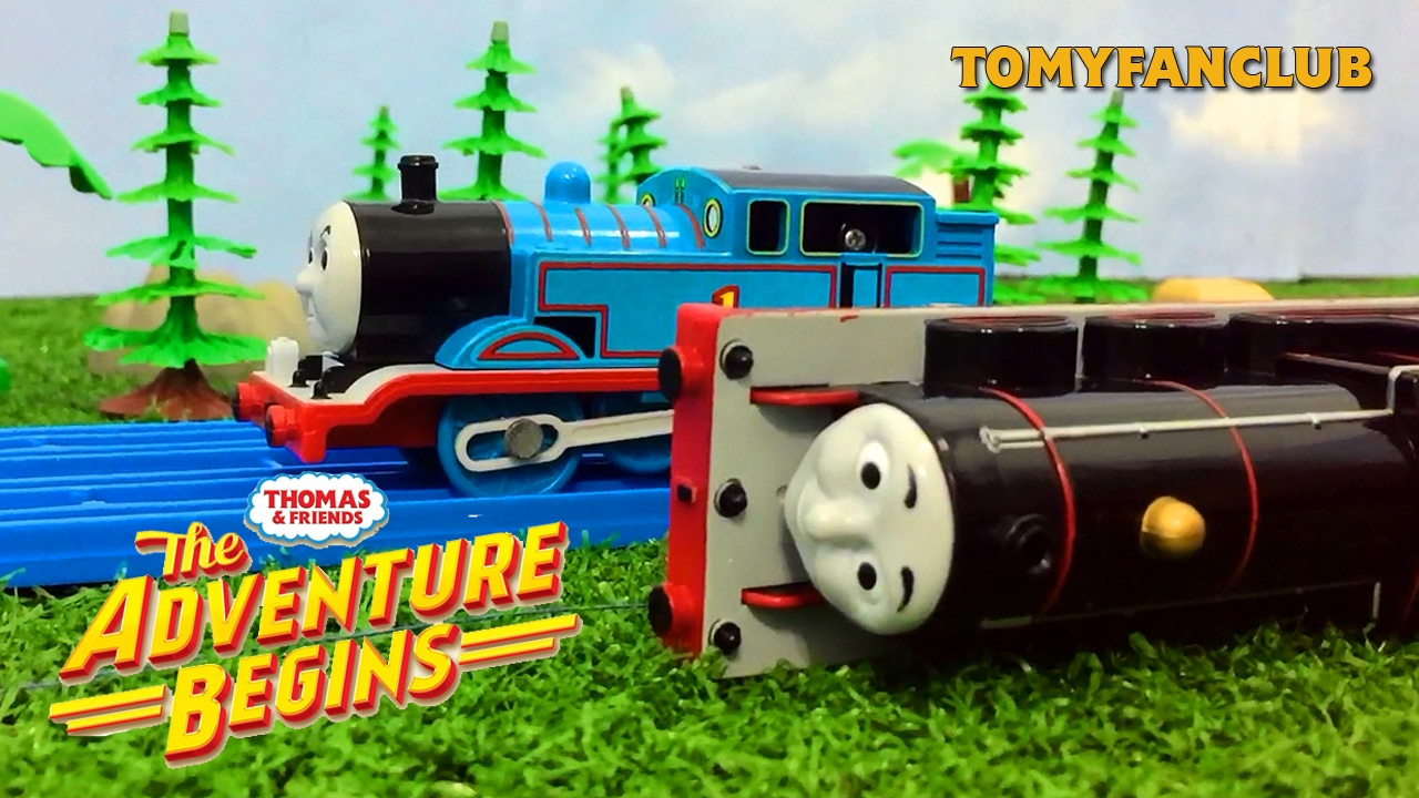 james runaway and crash the adventure begins us thomas and