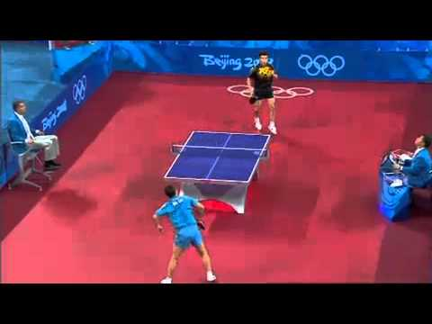 Mens Table Tennis Final   China vs China   Beijing 2008 Summer Olympic Games
