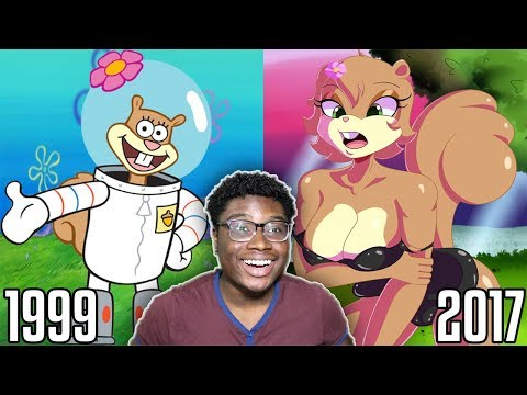 Kids Cartoon Characters BEFORE And AFTER 2017 Part 6!