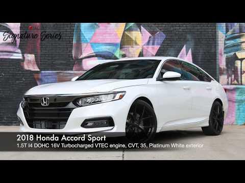 Don Jacobs Signature Series - 2018 Honda Accord Sport