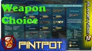 Beginners Guide to Planetside 2 - Weapon Choice - Avoid the Farm ep.11
