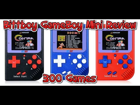 GameBoy Mini Classic - 300 Games - REVIEW