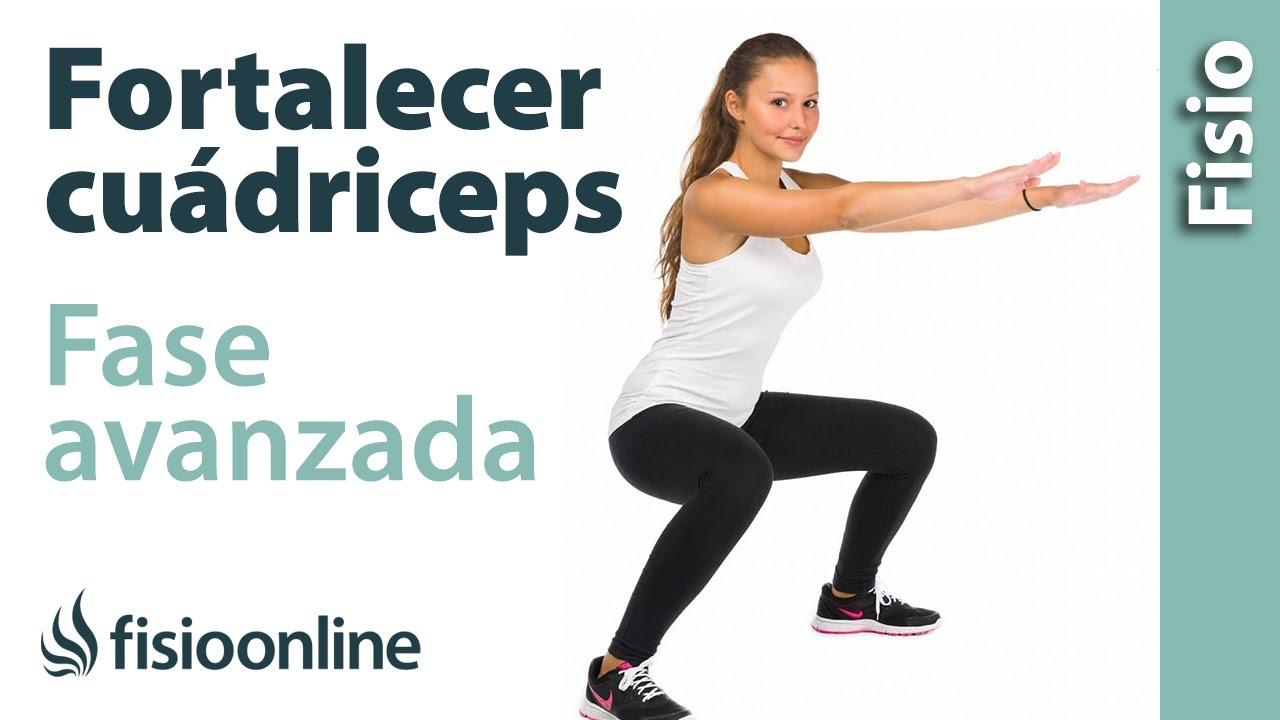 Ejercicios para fortalecer y recuperar el músculo cuádriceps (Fase ...