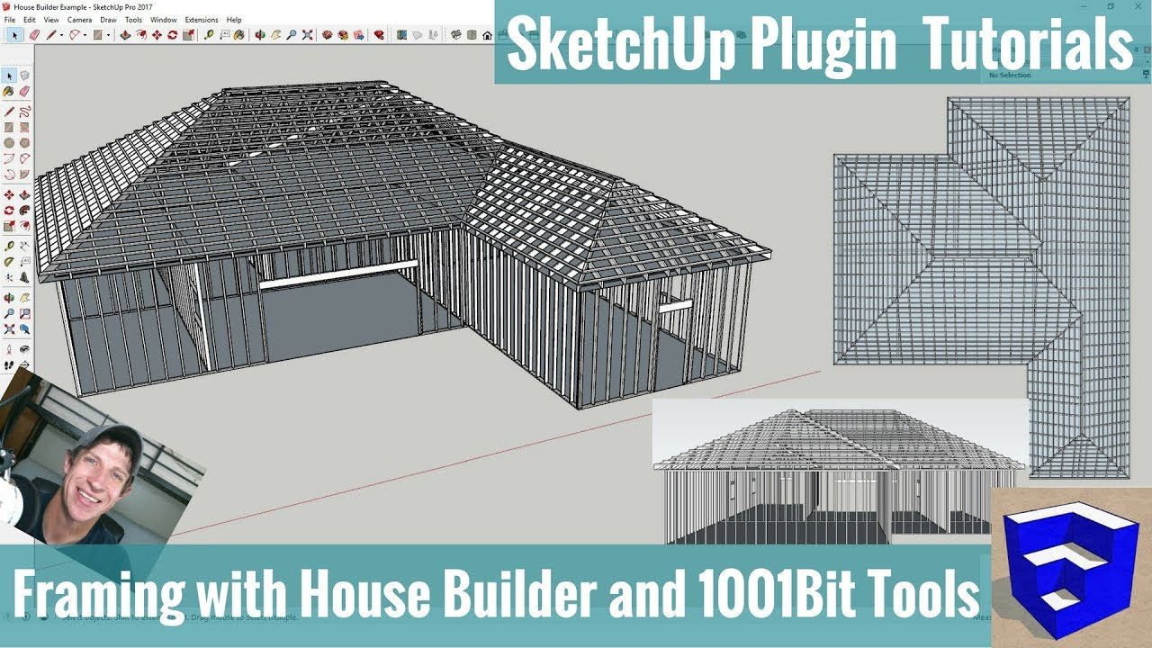 Modeling Framing in Your SketchUp Models with House Builder