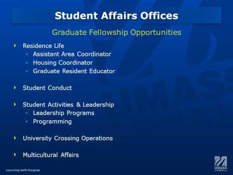 UMass Lowell Graduate Fellowships