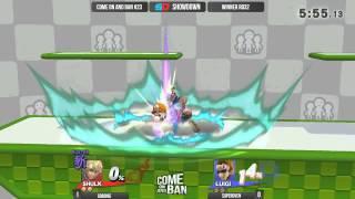 Come on and Ban #23 - Winner Ro32: Soronie (Shulk) vs SuperOven (Luigi)