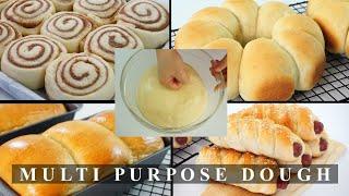 Multi Purpose Dough | Universal Dough Soft And Fluffy Recipe