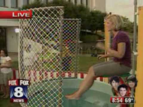 Tracy McCool Gets Dunked