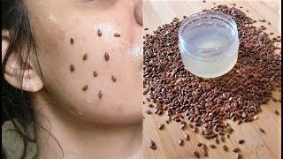 Do this 10 mins Every Morning & look 18 years old, Skin Tightening Face Mask Anti Aging Flaxseed Gel