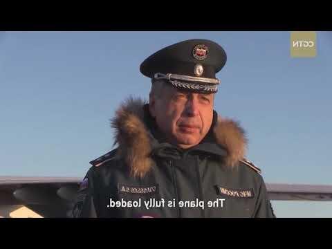 Русский доставляет помощь Ухани в борьбе с коронавирусом ➤ #КОРОНАВИРУС ✦