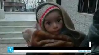 سوريا: أربعون ألف مدني مهددون بالموت جوعاً في مضايا