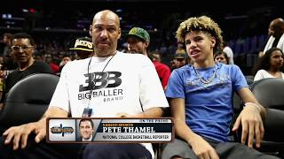 Yahoo! Sports' Pete Thamel on LaMelo Ball Possibly Already Under Fire w/NCAA | The Dan Patrick Show
