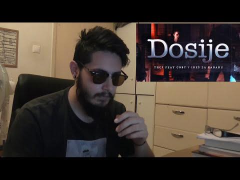 Greek reacts to Serbian rap | THCF feat. COBY - IDEŠ ZA KANADU