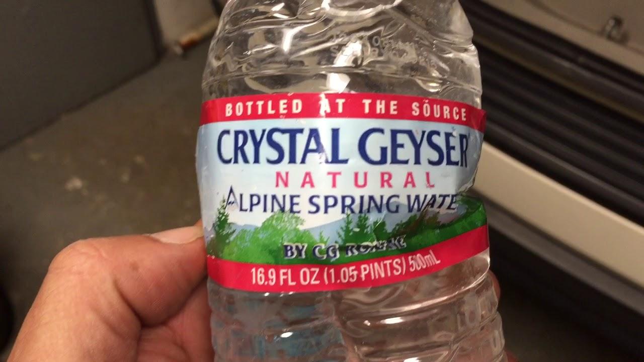 Crystal Geyser spring water deposits - YouTube