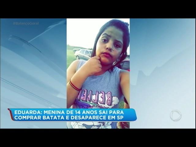 Família procura por jovem que desapareceu ao ir à lanchonete
