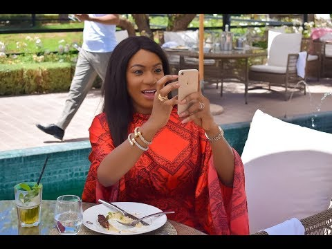 Chika Ike speaks at Education for all Morocco African Diva Reality Show Tour}