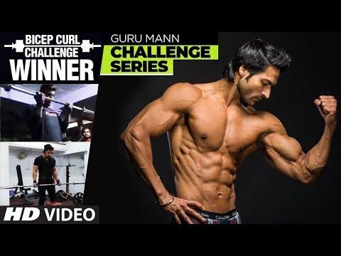 Winner of BICEP CURL CHALLENGE - Guru Mann BICEP CURL CHALLENGE