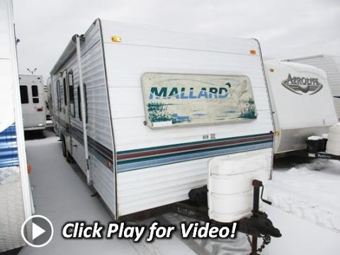 HaylettRV com - 1998 Mallard 29S Used Bunkhouse Travel Trailer by Fleetwood