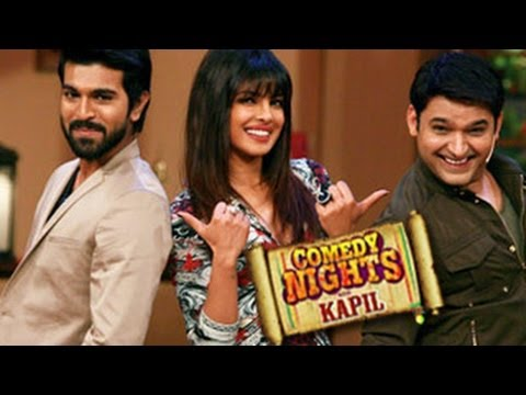 Priyanka Chopra & RamCharan Teja on Comedy Nights with Kapil Sharma- 1st September episode Travel Video