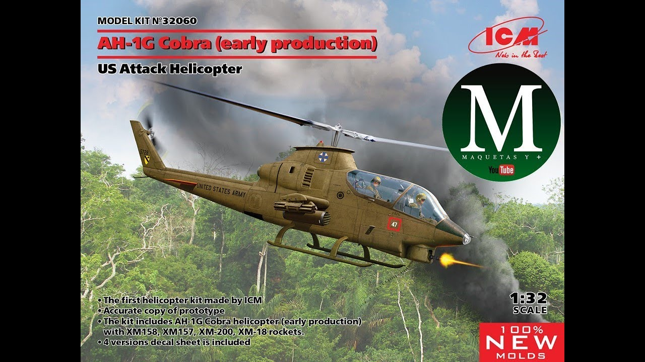 Download AH-1G Cobra (early production ICM 1:32)