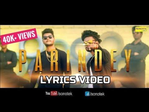 PARINDEY SUMIT GOSWAMI (LYRICS VIDEO) New Haryanvi Songs Haryanavi 2019