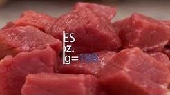 PROTEIN - Beef Per 4 oz. Serving = 26g Calories Per 4 oz. Serving = 188