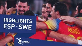 Spain, European champions 2018 | Highlights | Final | Spain vs Sweden | Men's EHF EURO 2018